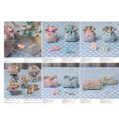 Sonaglino linea Sweet Baby con sacchetto in cotone (130352-A)