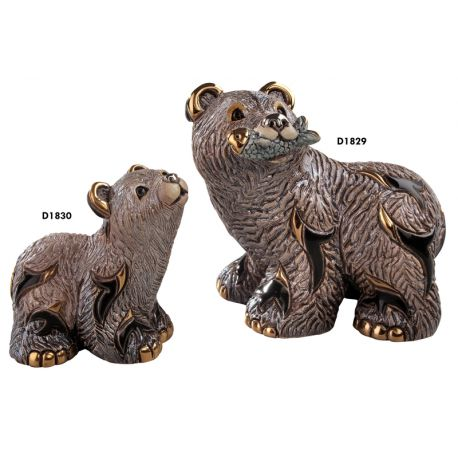F348 ORSO GRIZZLY BABY 8X9 CM (D1830)