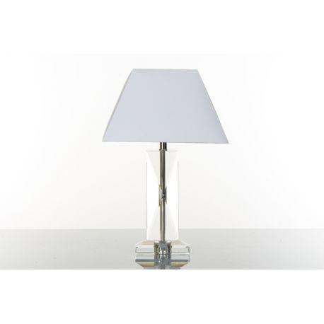 LAMPADA CRISTAL PARAL LASTRA H32 CM (D8044)