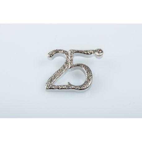 25 ANNIVERSARIO NOZZE ARG *120-12 (E3281)