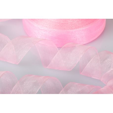 ORGANZA 10MM-100MT ROSA(G2651)*36-6 (GB1014)